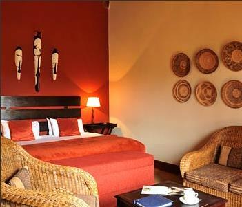 Hotel malelane 4 parc kruger afrique du sud for Couleur chaude chambre
