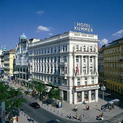 Hotel kummer 4 vienne autriche magiclub voyages for Hotels vienne