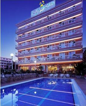 Hotel aqua bertran park 3 lloret de mar costa for Location maison lloret del mar avec piscine