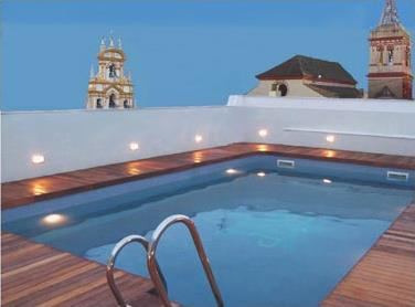 Hotel seville piscine