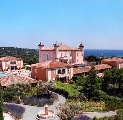 Ch teau hotel de la messardi re 4 luxe saint tropez for Hotel de luxe en france