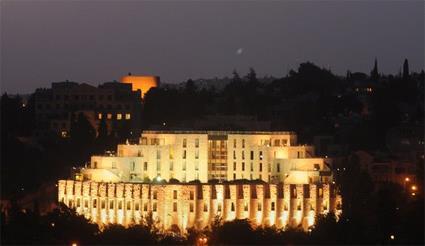 hôtel de luxe jerusalem