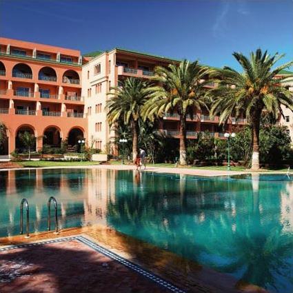 Hotel sofitel marrakech 5 maroc marrakech - Piscine sofitel marrakech ...