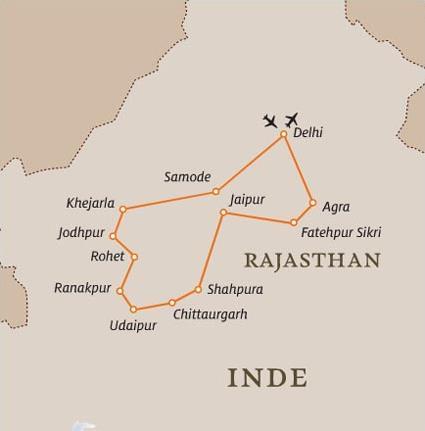Les Circuits Dans Le Rajasthan L Lnde Des Petits Palais