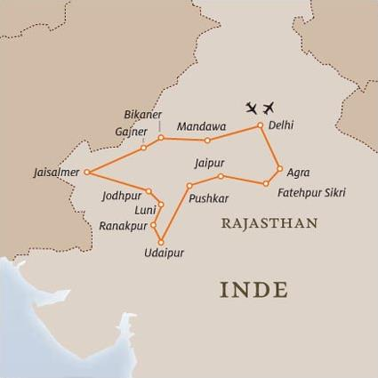 Les Circuits Dans Le Rajasthan L 233 Gendes Du Rajasthan