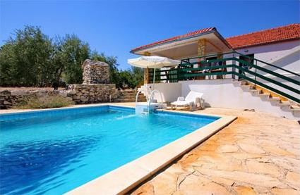 Croatie location de vacances 4 korcula gradina for Location piscine privee paris