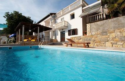 Croatie location de vacances 4 rabac rgion de l for Residence vacances avec piscine privee