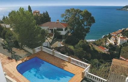 Espagne location de vacances 4 almuecar costa - Villa espagne avec piscine privee ...