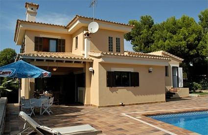Espagne location de vacances 4 llucmajor for Villa avec piscine privee en espagne