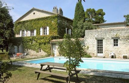 France location de vacances 4 st marcel les for Piscine saint marcel