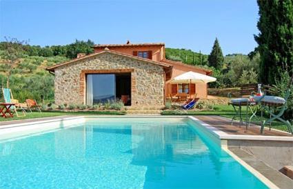 Villas de rve avec piscine prive et demeures de charme for Location toscane piscine