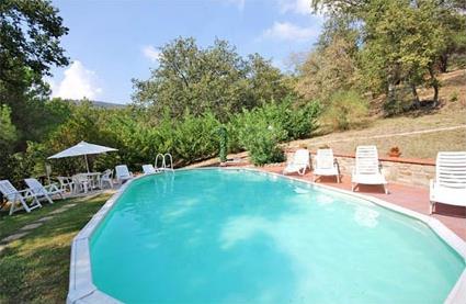 Italie location de vacances 4 passignano sul for Location toscane piscine