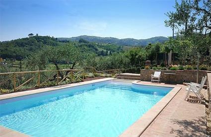 Italie location de vacances 4 serravalle pistoiese for Location toscane piscine
